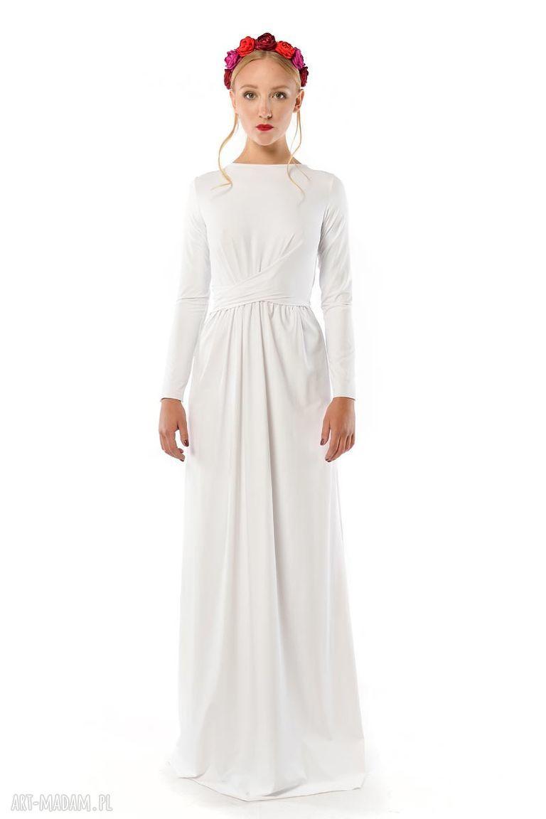 handmade ślub cristina patria 2 : biała suknia
