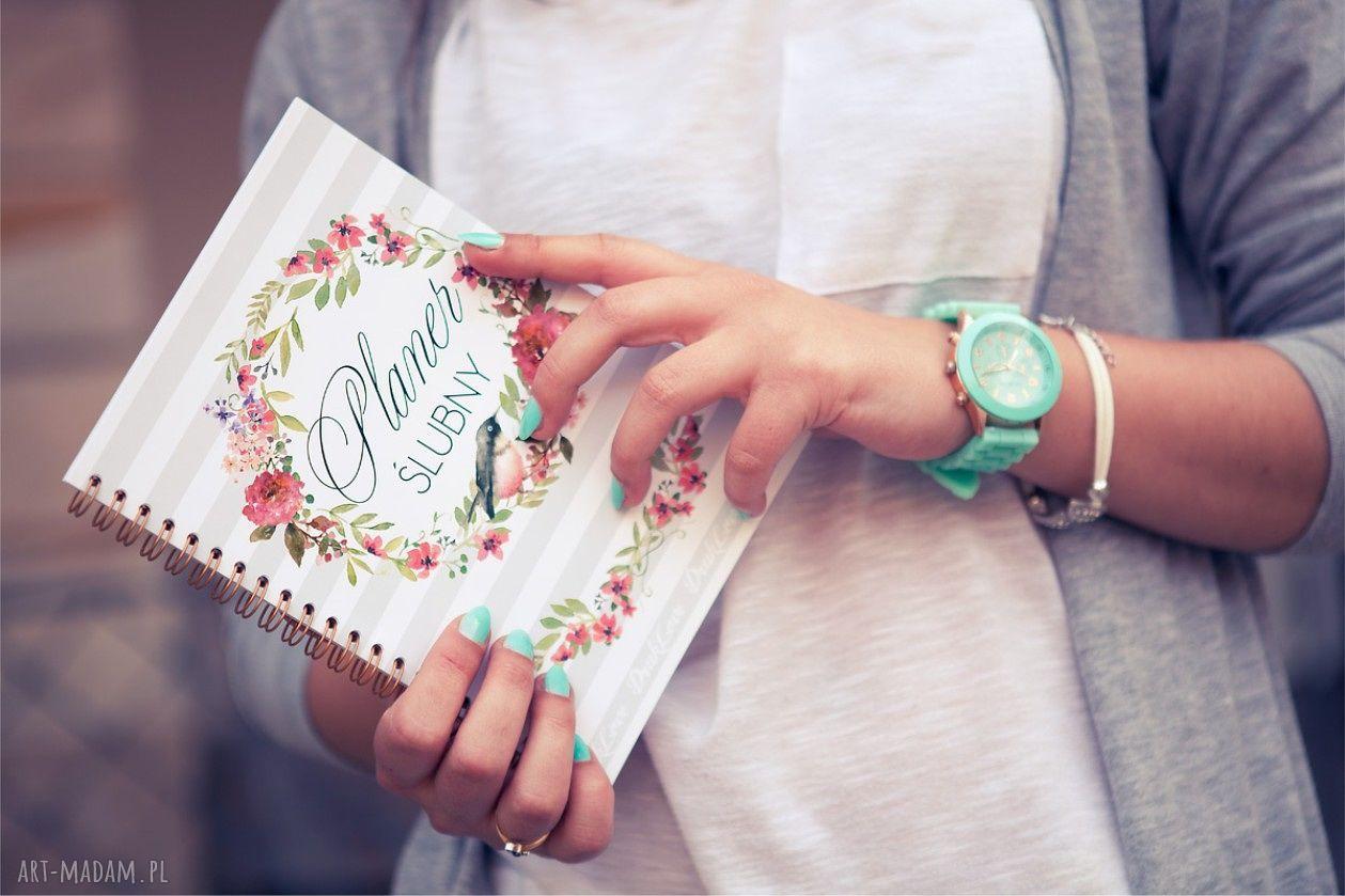 wyjątkowe ślub planer ślubny, notes, kalendarz