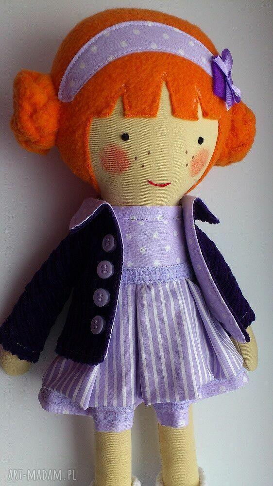 lalka lalki pomarańczowe laleczka martynka