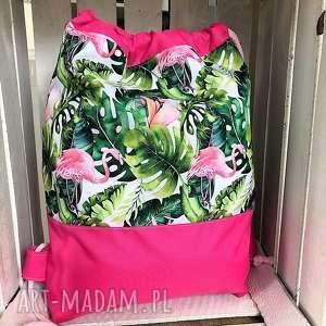 worek plecak wodoodporny flamingi, worek, plecak, wodoodporny, flaming, szkły