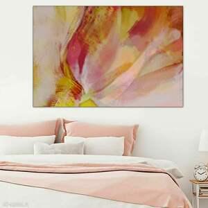 Zakochany tulipan 120 x 80, elegancki minimalizm, grafika