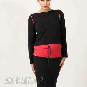 spódnice spódnica mila 3, ołówkowa, dresowa, wygodna, modna, komplet, codzienna