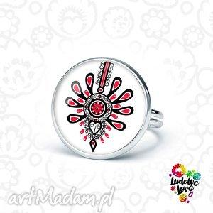 pierścionek parzenica, folk, polskie, wzory, ludowe, góry, góralskie