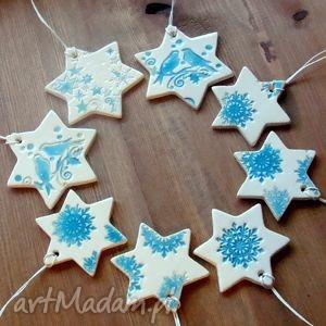 handmade pomysł na świąteczne prezenty zawieszki ceramiczne