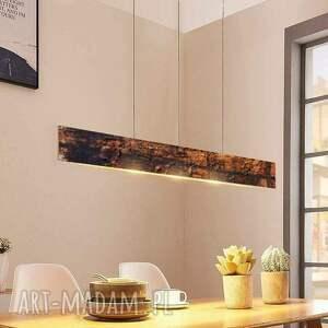 art and texture industrial copper lamp - lampa loftowa w industrialnym stylu