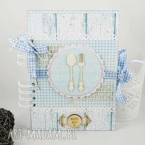 vairatka handmade przepiśnik, notes, kulinarny, kuchenny, przepisy, przepiśnik