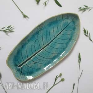 wyjątkowy prezent, liść ceramiczny, z ceramiki, organiczne