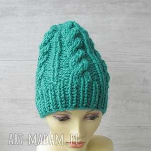 Gruba ciepła czapka alpaka czapki albadesign czapka, alpaka