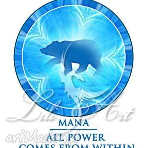 koszulka bawełniana - all power comes from within rozmiar xl, angielska