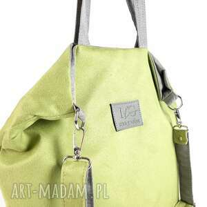 model holiday kolor letnia zieleń superlekka, torebka na ramię, pasku