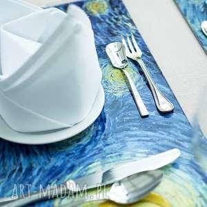 Prezent Duża podkładka na stół - Gwiaździsta noc van Gogha, stół, dom, jadalnia