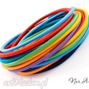 Bransoletka Rainbow, bransoletka, gumki, guma, zamotka, kolorowa