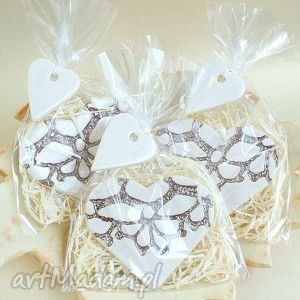 Prezent Podziękowania weselne, podziękowania, wesele, ślub, serce, magnesy, upominki