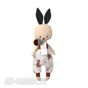 maskotki lala przytulanka króliczek marcel, ręcznie robiony
