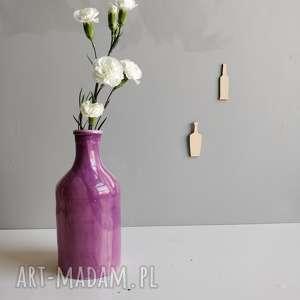 wyjątkowy prezent, butelka ceramiczna - wazon, butelka, decor, dom