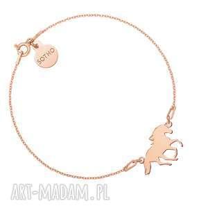 bransoletka z koniem z różowego złota sotho - nowa kolekcja