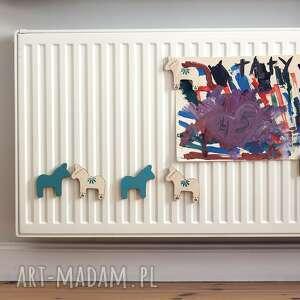 hand-made magnesy zestaw 2 magnesów ze sklejki seria konie