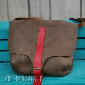 torba skórzana lekka zgrabna i poręczna, torebka skórzana, na ramię, prezent