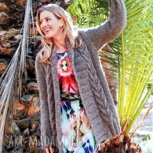 sweter perugia, sweter, alpaka, ciepły, prezent, dziergany, kobieta