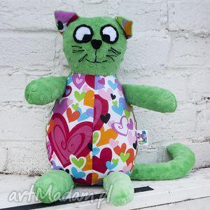 pan kot- wyjątkowa maskotka handmade, kot, minky, nietypowe