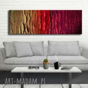 duży nowoczesny obraz do salonu, dekoracje fioletowe, nowoczesne, modny salon