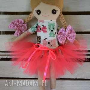 handmade lalki szmacianka, szmaciana mini laleczka