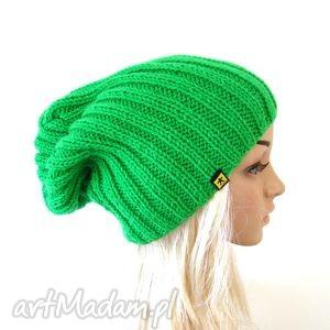 Prezent zielona czapka unisex, czapka, czapeczka, lekka, kolory, prezent, pachnąca