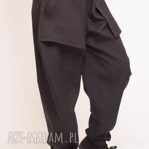 spodnie czarne z kieszeniami, baggy, szerokie, kieszonki, wygodne, oryginalne