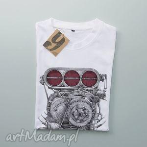 ENGINE koszulka z silnikiem, silnik, motor, auto, samochod