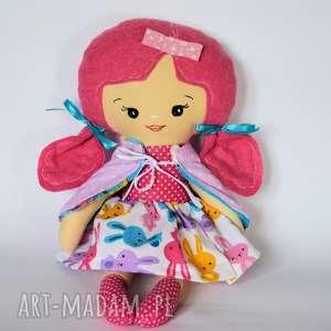 lalka pastelka - zuzia 43 cm, lalka, ubranka, dziewczynka, kolorowa, urodziny