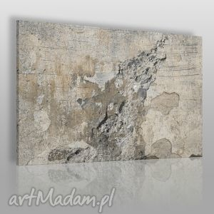 obraz na płótnie - abstrakcja beton 120x80 cm 20101, beton, surowy