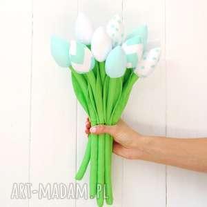 tulipany, bukiet, tulipan, kwiatki, dekoracja, prezent