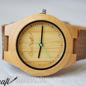 Drewniany damski zegarek BAMBOO GREEN women, zegarek, drewniany, damski, bambusowy