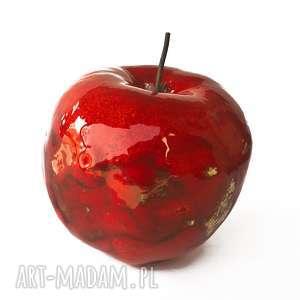 Prezent czerwone ceramiczne jabłko, prezent, ceramiczne-jabłko