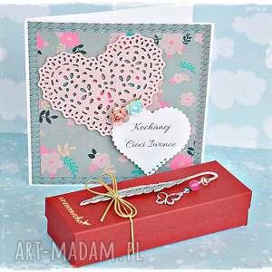 zestaw prezentowy - motyl ze swarovskim i jadeitem, prezentowy, urodziny