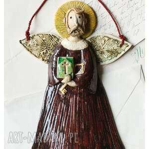 oryginalne prezenty, wylegarnia pomyslow św piotr, ceramika, anioł, święty