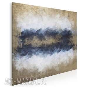 vaku dsgn obraz na płótnie - morze abstrakcja w kwadracie 80x80 cm 73002