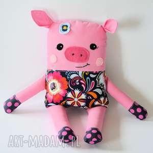 chrumka, świnka z klasą - jola 38 cm, maskotka, dziecko, dziewczynka, roczek