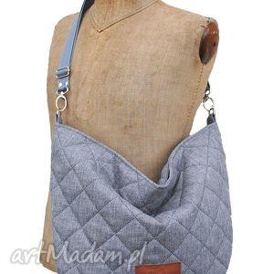 handmade torebki hobo classic (na skos) sir elton... - popiel