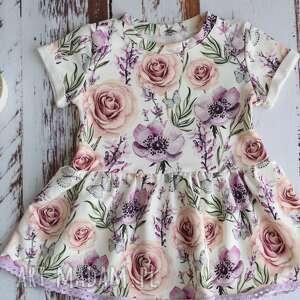 Sukieneczka w motylki dla dziewczynki rozm 74 juti bags na lato