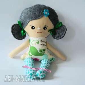 lala bella - klara 42 cm, lalka, bella, dziewczynka, szmacianka, kotek, tancerka