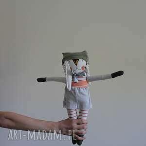 Zajączek zakochany zenon lalki patchworkart zabawka, lalka