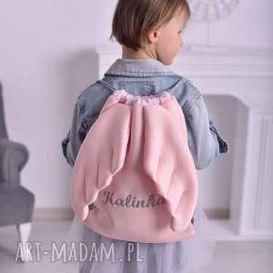 Plecak worek ze skrzydłami z imieniem dla dziecka