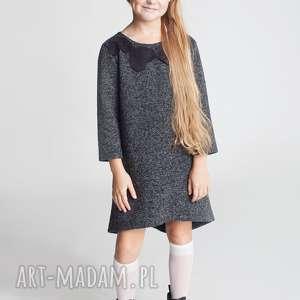 ubranka sukienka dsu13b, sukienka, serce, elegancka, stylowa, modna, dziewczęca