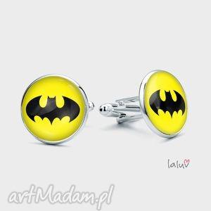 spinki do mankietów batman - batman, dc, komiks, prezent, chłopak, nietoperz