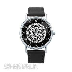 hand-made zegarki zegarek z grafiką kurpie