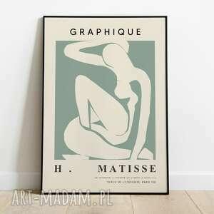henri matisse, inspiracja, plakat wystawowy 50x70