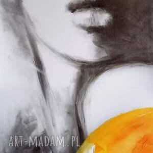 twarz kobiety 81x57, obraz do salonu, duże obrazy, obraz, portret