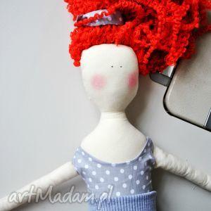 pani lala, lalka, ruda, kręcone, rude, włosy, prezent, prezent na święta