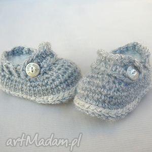 buciki zamówienie p anny, buciki, dziecko, niemowlę, prezent, wełna, ciepłe